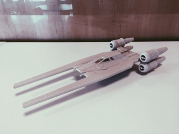 Image of Star Wars 3D Models to 3D Print: U-Wing Fan Design