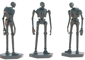 Image of Star Wars 3D Models to 3D Print: K-2SO