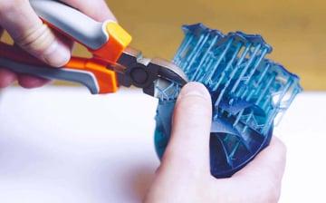 Imagen de Reducir el costo de la impresión 3D: Evite las estructuras de soporte y las balsas (cuando sea posible)
