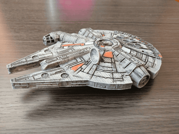 Image of Star Wars 3D Models to 3D Print: Fillenium Malcon