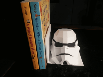 Image of Star Wars 3D Models to 3D Print: Star Wars Book End