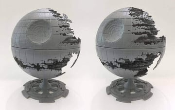 Image of Star Wars 3D Models to 3D Print: Death Star