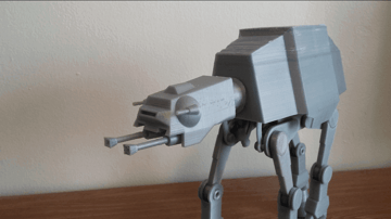 Image of Star Wars 3D Models to 3D Print: Motorized AT-AT
