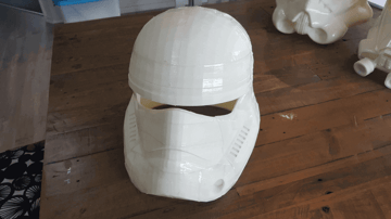 Image of Star Wars 3D Models to 3D Print: Episode 7 Stormtrooper Helmet