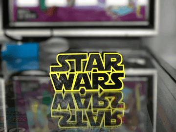 Image of Star Wars 3D Models to 3D Print: Star Wars Logo