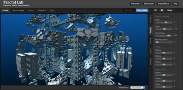 Imagem de Programa de modelagem 3D gratuito: FractalLab