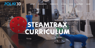 Image of Resources for 3D Printing Classes and Curriculum: STEAMtrax (Polar3D)