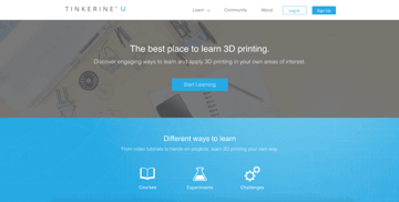 Image of Resources for 3D Printing Classes and Curriculum: Tinkerine