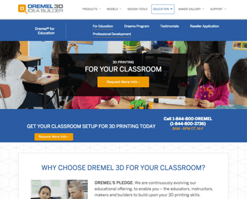 Image of Resources for 3D Printing Classes and Curriculum: Dremel