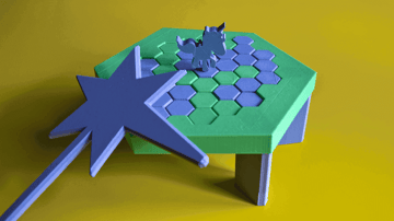 Image of DIY Board Games You Can Make with a 3D Printer: Save the Last Unicorn