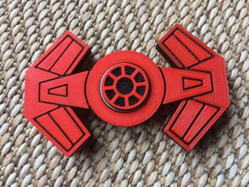 Image of Best Fidget Spinner Toys to Buy or DIY: Tie Advanced Hand Spinner