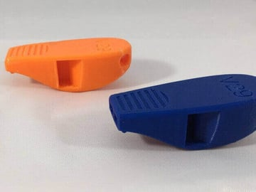 Image of 10 Things Worth Printing with a 3D Printing Service: Survival Whistle