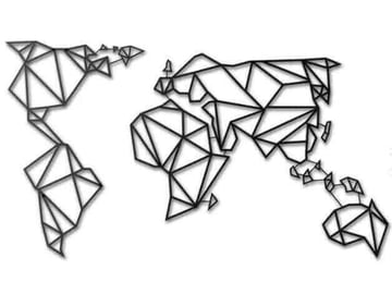 Image of 10 Things Worth Printing with a 3D Printing Service: 3D Printed World Map