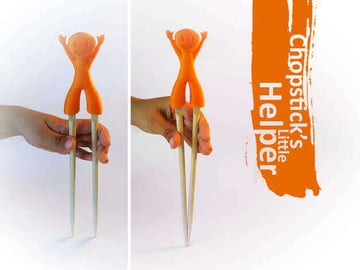 Image of 10 Things Worth Printing with a 3D Printing Service: Chopsticks Little Helper