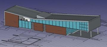 Imagem de Software de arquitetura 3D gratuito / Programa BIM gratuito: FreeCAD Arch