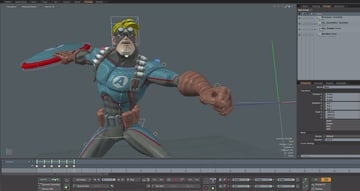 Image of 24 Best 3D Animation Software Tools (Some are Free): modo