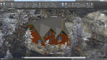 Imagem de Programa de arquitetura 3D / programa BIM : AutoCAD Architecture