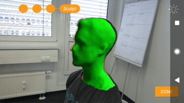 Image of Sony 3D Creator Review: Person Scanning