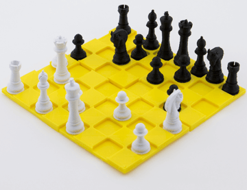 Image of 3D Printed Chess Set: Classic Chess Set