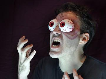Image of 3D Print Halloween: Kongo's Bugging Eyeballs