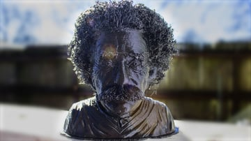 Image of Movember 3D Printing Projects: Hairy Einstein