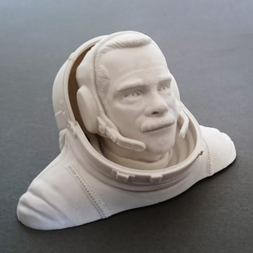 Image of Movember 3D Printing Projects: Commander Chris Hadfield