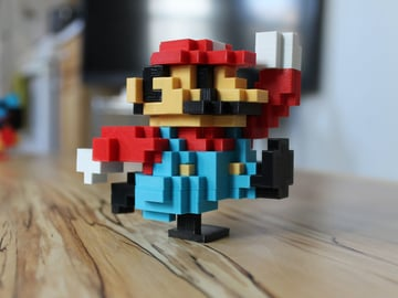 Image of Movember 3D Printing Projects: 8-Bit Classic Mario
