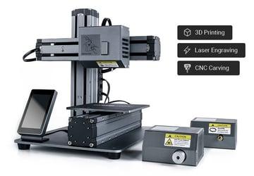 Imagem de Guia das máquinas de gravação a laser: Snapmaker