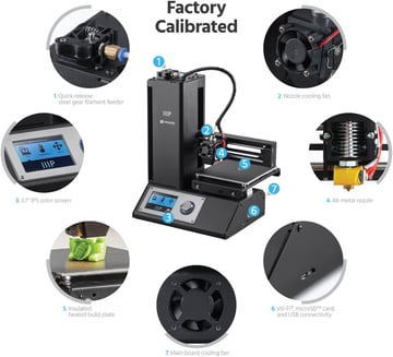 Image of Monoprice MP Select Mini Review: Differences from the Monoprice Select Mini V2