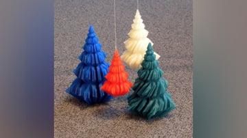 Hattifant's 3D Paper Christmas Trees - Hattifant | 202x360