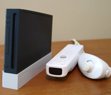Image of Custom Raspberry Pi Case to 3D Print: Wii Pi Case