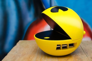 Image of Custom Raspberry Pi Case to 3D Print: Pacman Enclosure