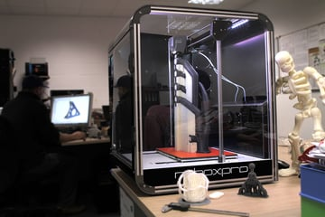 Image of CEL RoboxPRO 3D Printer: Review the Facts: CEL RoboxPRO Features an Olsson Ruby Nozzle as Standard