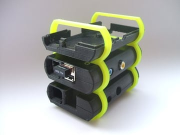 Image of Custom Raspberry Pi Case to 3D Print: Raspberry Pi Case Stackable