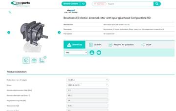 Imagem de Melhores sites para baixar modelos 3D gratuitos: Trace Parts