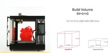 Image of Raise3D N2 3D Printer: Review the Tech Specs