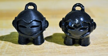 Image of ABS vs PLA-Filament: Veredelung und Finishing