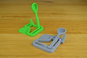 Image of Easy & Fun Things to 3D Print in an Hour (or Less): Micro Catapult