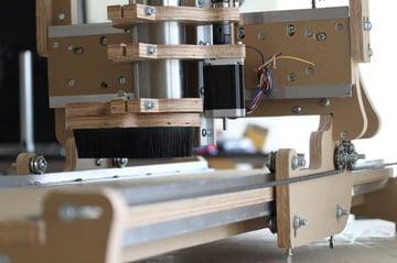 Image of DIY CNC Router Kits & Desktop CNC Machines: BuildYourCNC blueChick