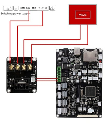 mosfet wiring diagram anet a8 mosfet upgrade does it help   how to do it all3dp  anet a8 mosfet upgrade does it help
