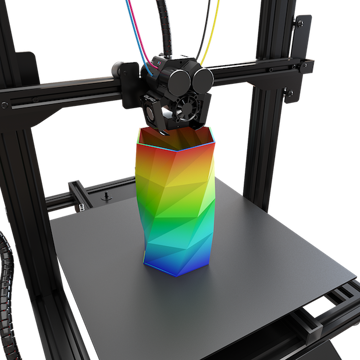 Image of M3D Crane Quad 3D Printer: Review the Facts: What Special about This Printer?