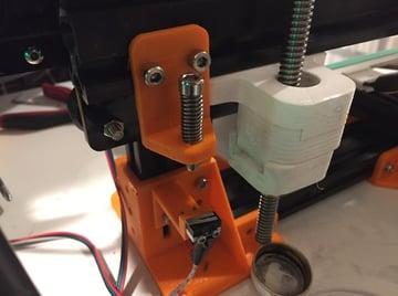 Image of Tevo Tarantula Upgrades and Mods: Tevo Tarantula Adjustable Z End Stop