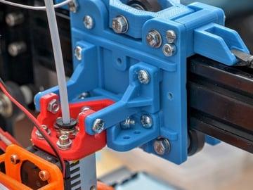 Image of Tevo Tarantula Upgrades and Mods: Modular Carriage (4020 rails)