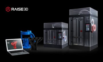 Image of Dual Extruder 3D Printer Buyer's Guide: Raise3D Pro2