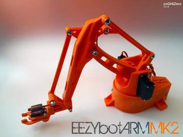 Image of 3D Printed Robot: EEZYbotARM Mk2
