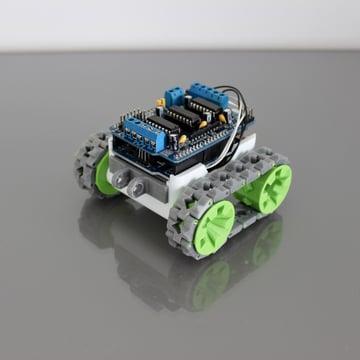 Image of 3D Printed Robot: SMARS Modular Robot