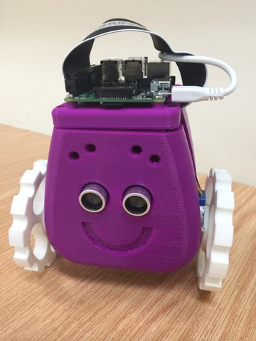 Image of 3D Printed Robot: Apogee V2