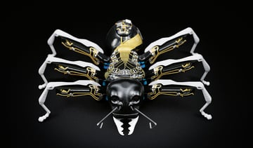 Image of 3D Printed Robot: BionicANT