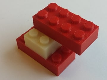 Image of Easy & Fun Things to 3D Print in an Hour (or Less): Classic LEGO Brick