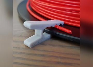 Image de Objets 3D utiles à imprimer en 3D: Clip pour filament